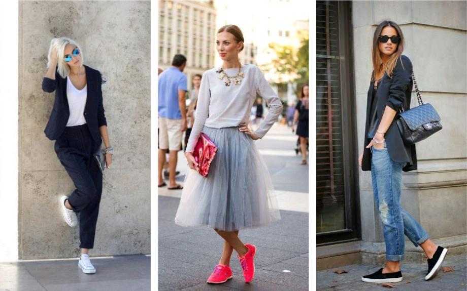 Odijelo, elegantna haljina, traperice... Ma, tenisice idu uz svaki outfit!