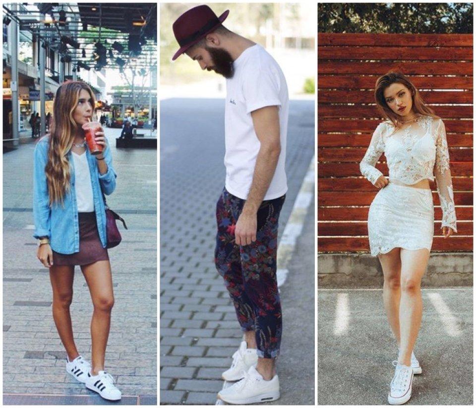 Bijele tenisice se mogu nositi uz sve, a popularne su kod oba spola.
