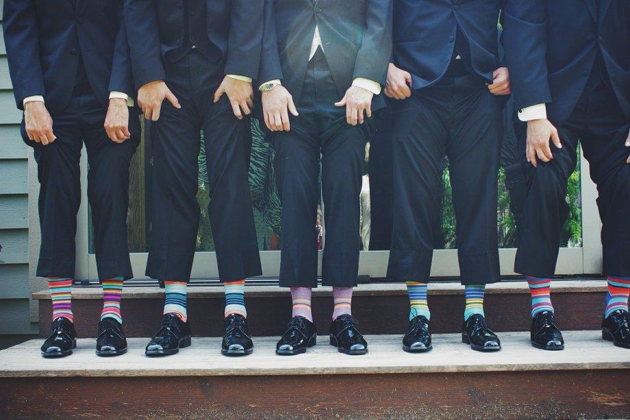 Pravi muškarci znaju kako odabrati čarape