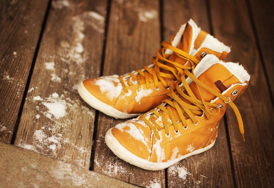 Zaštitite cipele od snijega!