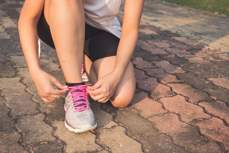 kako vezati tenisice za trčanje